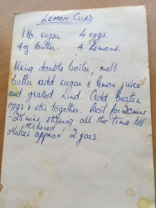 Mum's lemon curd recipe